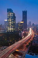 Shanghai blue hour
