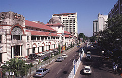Bogyoke Aung San Market in Yangon